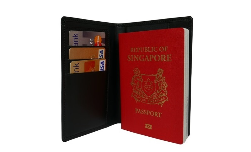 Cow Soft Leather Passport Holder
