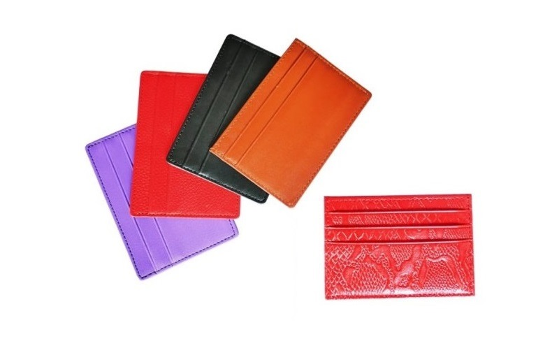 Leather Bothside Card Holder